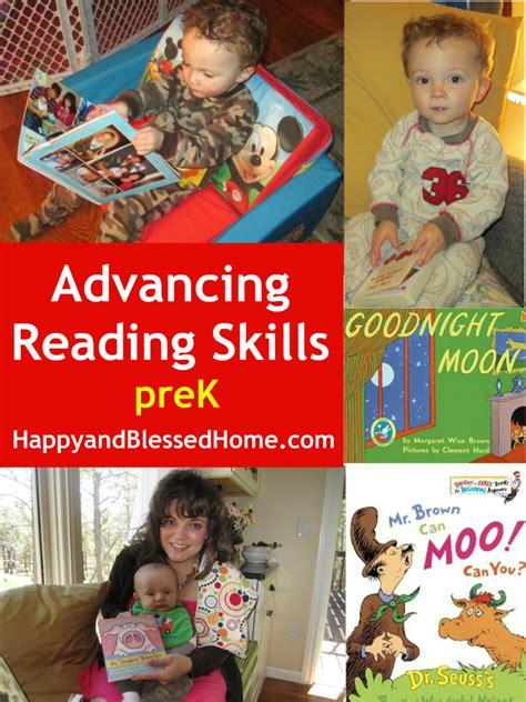 advancing pre school reading behaviors happy  blessed