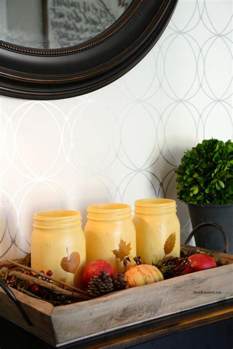 Ee  Mason Ee   Jar Crafts For Fall