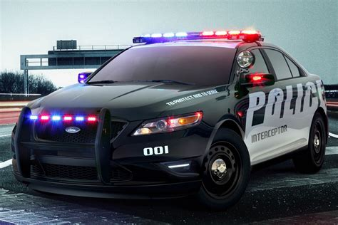Ford's Latest Police Car Is A Hybrid Suv