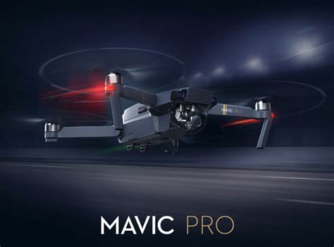 dji mavic pro  foldable mini drone launched key