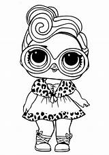 Lol Coloring Printable Dolls Doll Surprise sketch template