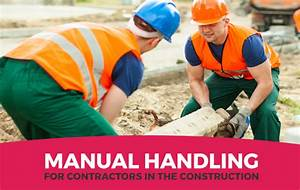 Manual Handling Tips For Contractors In The Construction