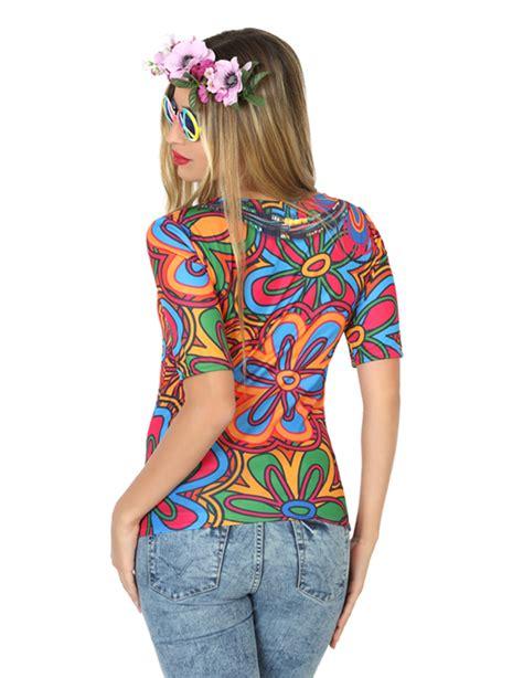hippie t shirt selber machen hippie t shirt f 252 r damen kost 252 me f 252 r erwachsene und g 252 nstige faschingskost 252 me vegaoo