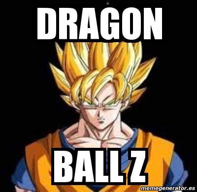 Dragon Ball Z Meme Generator - meme personalizado dragon ball z 71312