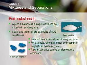 C08 mixtures and separations