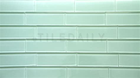 glass subway tile light green tiledaily