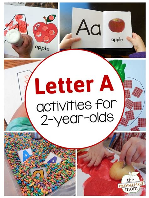 letter a activities for 2 year olds for big