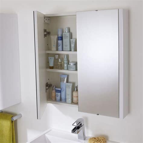 Bathroom Cabinet Mirrors by Premier 2 Door Bathroom Mirror Cabinet 600mm