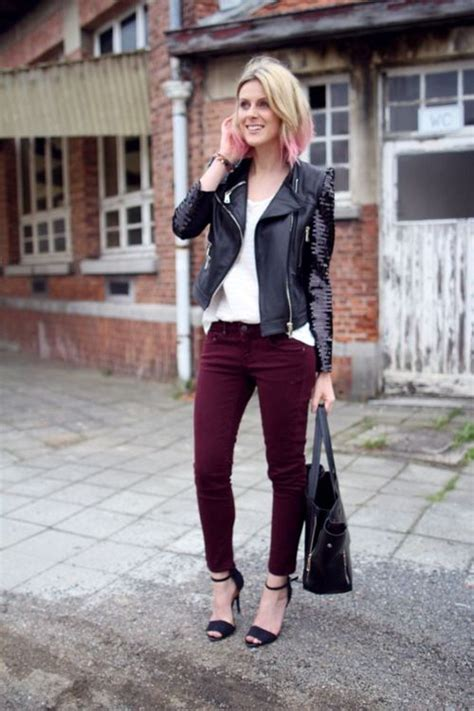 How to wear pink with burgundy u2013 Just Trendy Girls