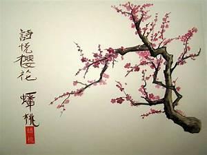 Veronique Renard - visual artist: Cherry Blossom Chinese ...
