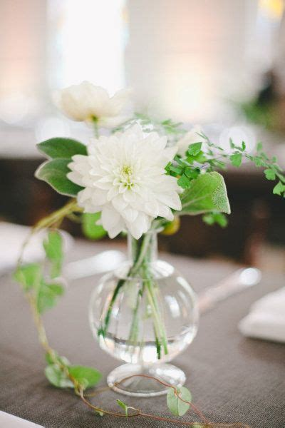 Small Floral Vases by Wedding By The Nichols J C Affordable Wedding