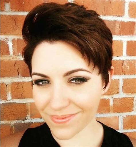 Textured Pixie Hairstyles by Pixie Haircuts For Thick Hair 40 Ideas Of Ideal