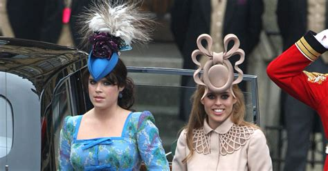See Princess Eugenie and Princess Beatrice's Hats at Trooping the Colour 2018
