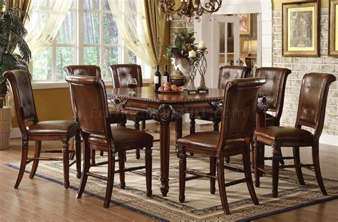 Counter Height Dining Room Tables by 60080 Winfred Counter Height Dining Table In Cherry By Acme