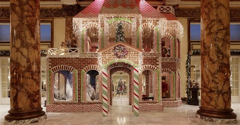 amazing gingerbread house displays