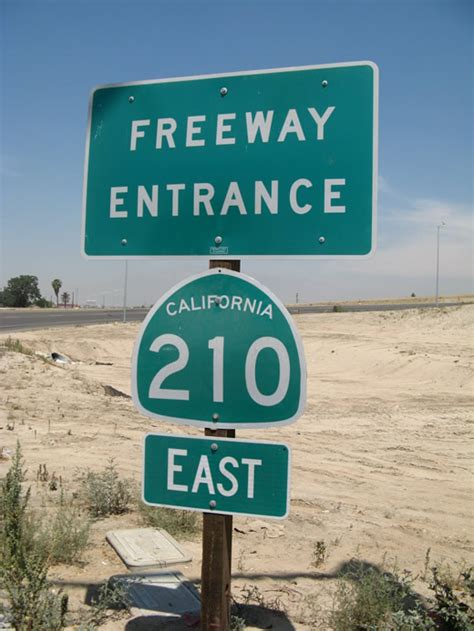 210 california interstate freeway state interchange shield fwy muscoy street entrance san near bernardino aaroads st stands western taken