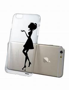 Coque Transparente Iphone 6 : coque transparente silhouette femme pour apple iphone 6 et 6s coquediscount ~ Teatrodelosmanantiales.com Idées de Décoration