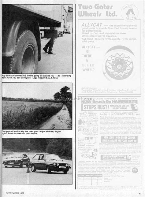 Ford Fiesta Mk1 » Magazine Articles Uk » Hot Car » Technical Fiesta Performance Driving Part 2