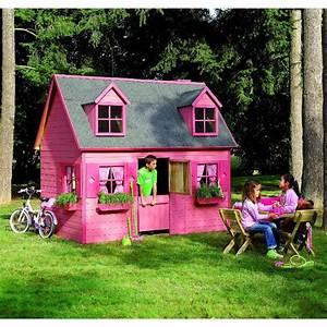 Cabane En Bois Pour Enfant : cabane enfant tage en bois massif rosalie cerland ~ Dailycaller-alerts.com Idées de Décoration