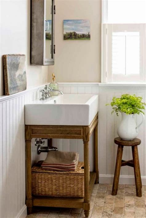 dolls house kitchen furniture 32 cozy and relaxing farmhouse bathroom designs digsdigs