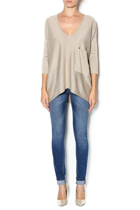 Kerisma Pocket Sweater Top From New Orleans By Gia's Boutique — Shoptiques
