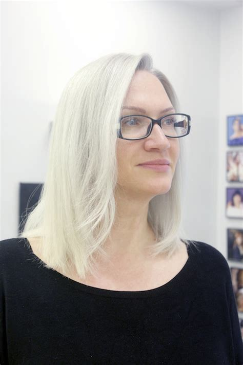 pelo blanco hielo el blog de cheska por maria baras