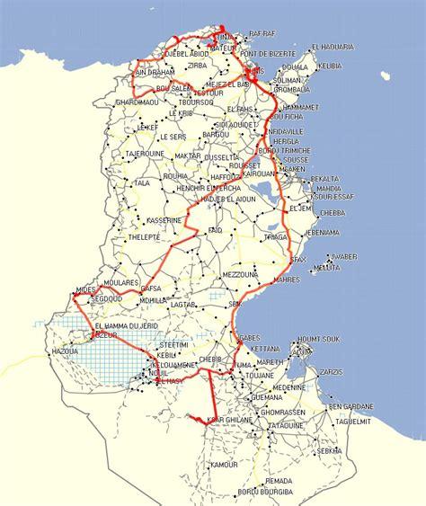 Distance Entre Hammamet Et Tunis by Voyage Tunisie Par Route