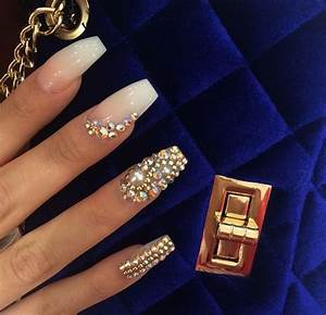Clear Nail Designs With Flowers 30 Beautiful Diamond Nail Art Designs Diamond Nails