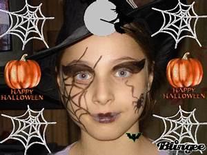 Maquillage D Halloween Pour Fille : voici la tres belle sorciere d 39 alloween ma petites familles d 39 amour ~ Melissatoandfro.com Idées de Décoration