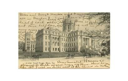 Texas Waco County Mclennan Courthouse Baylor Court