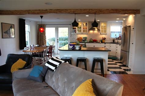 Split Level Kitchen Living Room Remodel by My Finished Kitchen Before And After Photos On The