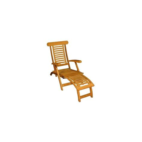 chaise longue en teck chaise longue en teck plantes et jardins