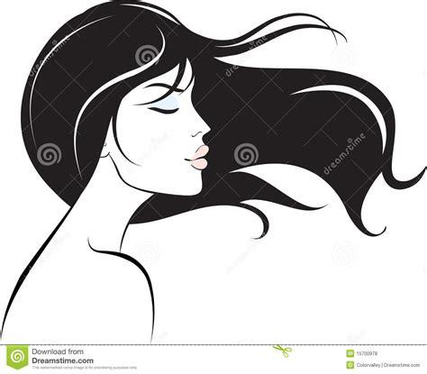 hair clipart black and white hair clipart