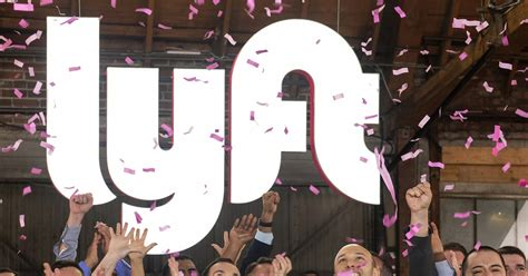 Lyft's Shares Soar As Investors Bet On Ride-hailing Future