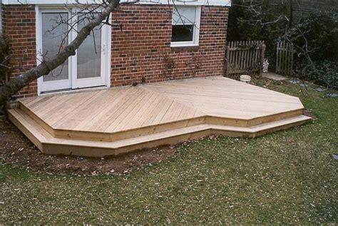 ground level decks pa deck builders  patio contractors