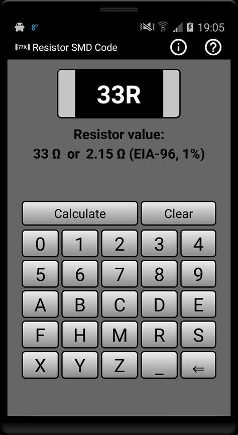 Resistor SMD code for Android - APK Download