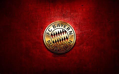 Bremer sv vs bayern münchen: Download wallpapers Bayern Munchen FC, golden logo ...
