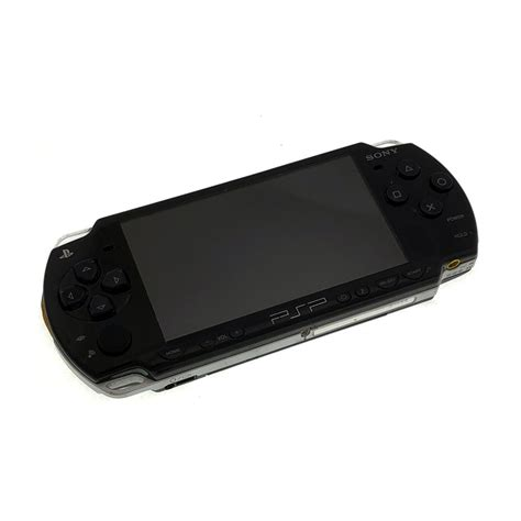 Playstation Portable Console by Playstation Portable 2000 Slim Black Console Pre Owned