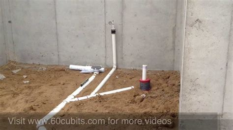 Building a House   #09 Underground Plumbing   YouTube