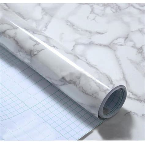 60x50cm self adhesive wallpaper granite marble effect contact waterproof thick pvc wallpaper