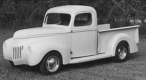 1940 Ford pickup fiberglass body