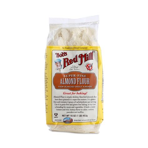 almond meal almond flour by bob s red mill thrive market