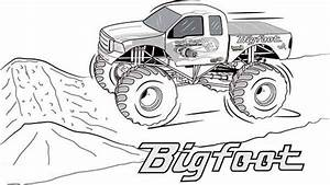 coloring pages monster trucks - 20 free printable monster truck coloring pages