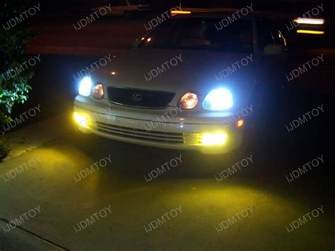 jdm golden yellow bright halogen bulbs for fog