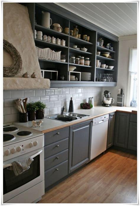 open shelf ideas    kitchen  spacious