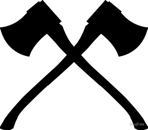 axe clipart black and white axe clipart crossed 2341633