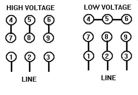 460 Volt Motor Wiring Diagram by Electric Motor Wiring Question Pilots Of America