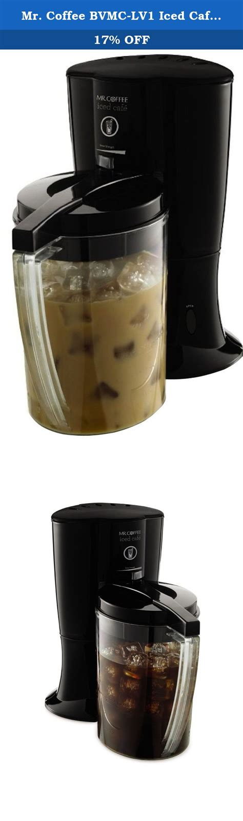 Freshly roasted coffee beans of your choosing. Mr. Coffee BVMC-LV1 Iced Cafe Iced Coffee Maker, Black. Mr. Coffee Iced Cafe brews gourmet iced ...