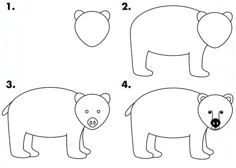 draw  black bear  kids drawbear wildlife