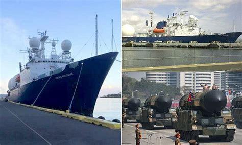 New US ship developed to intercept North Korean missiles